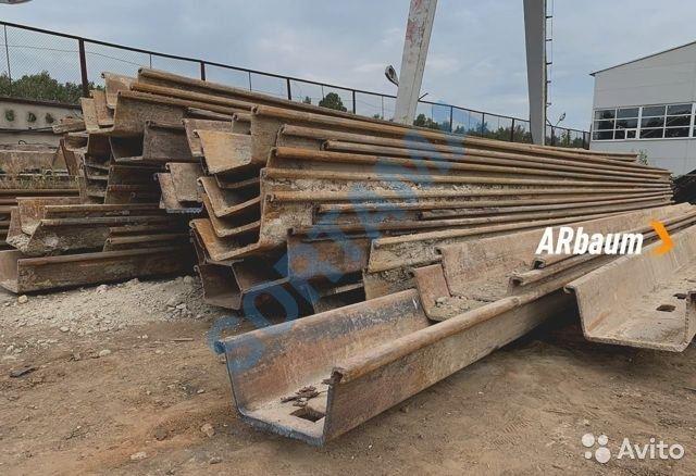 Шпунт Ларсена - Л5ум 12 метров, сталь С355
